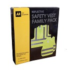 AA High Visibility Vest - Family Pack