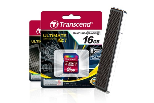 New products from Transcend image