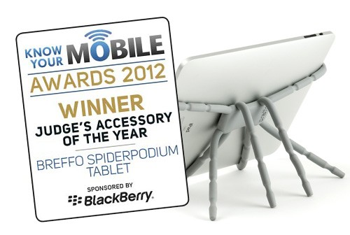 Breffo Spiderpodium Tablet wins Accessory of the Year image