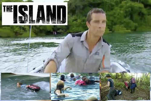 OverBoard bags feature on The Island with Bear Grylls image